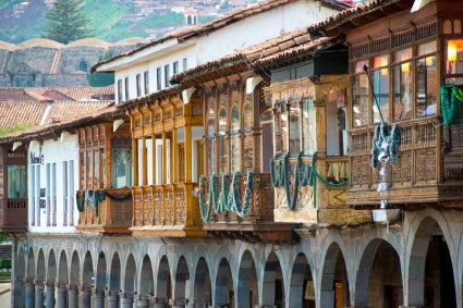 Some of the amazing architecture of Cuzco