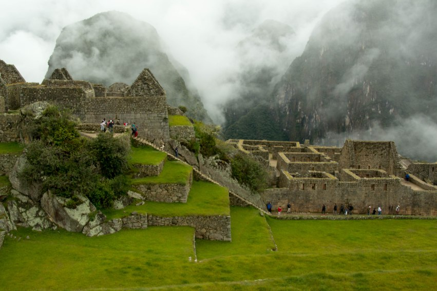 We finally arrive at Machu Picchu!