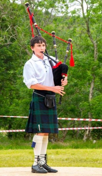 Stopped in the booming metropolis of Glenelg, Scotland to see some Highland Games. All I really saw was this kid.