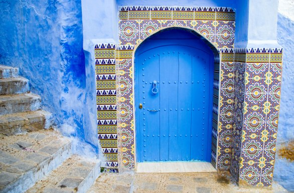 In the blue city of Chefchaouen