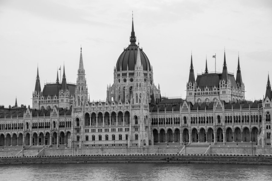 The Parliament building from the other side of the Danube
