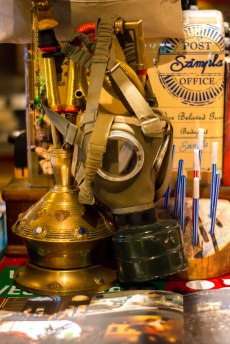 More odd objects in Szimpla (ruin pub). Photo courtesy of Chris Hale