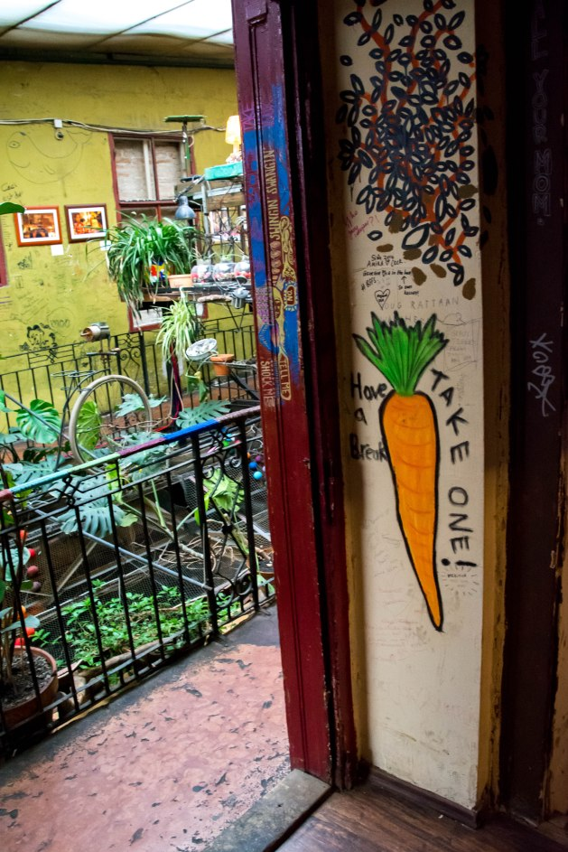 This ruin pub was big on carrots. Photo courtesy of Chris Hale
