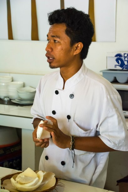 Our master chef. Photo courtesy of Chris Hale.